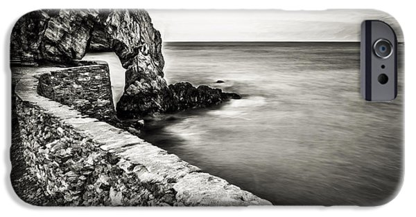 Industrial Digital Art iPhone Cases - Porth Wen Arch iPhone Case by Adrian Evans