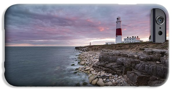 Turbulent Skies iPhone Cases - Portland Bill  iPhone Case by Ollie Taylor