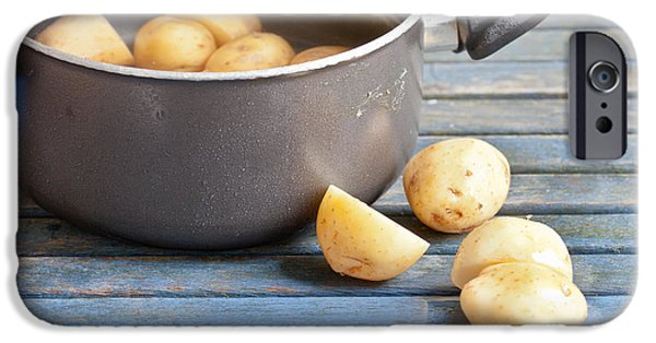 Boiled iPhone Cases - Potatoes iPhone Case by Tom Gowanlock