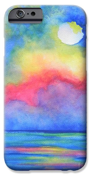 Abstract Seascape iPhone Cases - Power of Nature  iPhone Case by Chrisann Ellis