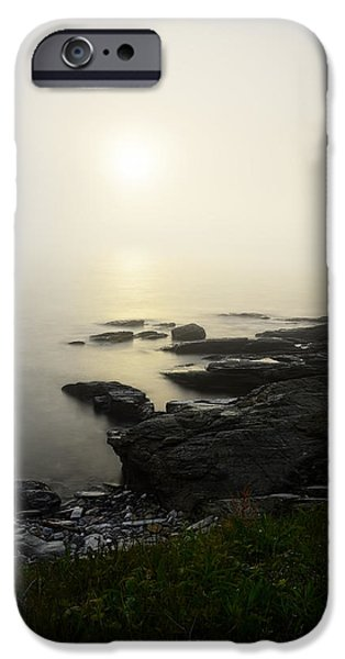 New England Landscape iPhone Cases - Prelude iPhone Case by Lourry Legarde