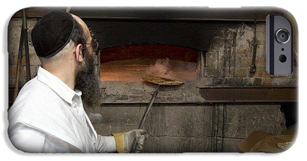 Psi iPhone Cases - Preparing Matzah Israel iPhone Case by Danny Yanai