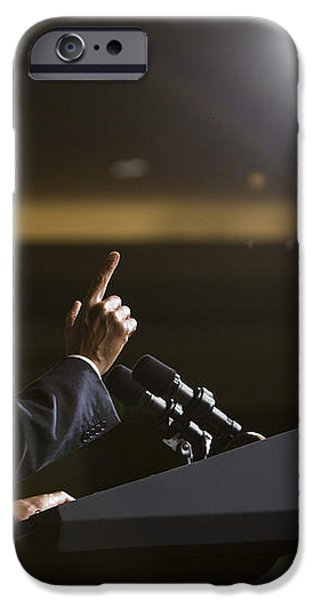 President Obama iPhone Case by JP Tripp