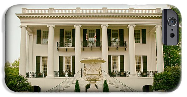Tuscaloosa iPhone Cases - Presidents Mansion - University of Alabama iPhone Case by Mountain Dreams