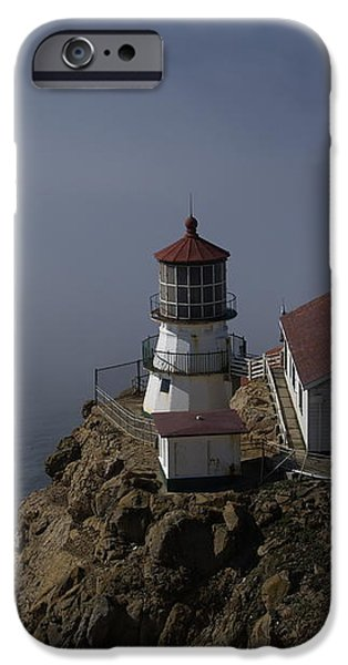 Pt Reyes Lighthouse iPhone Case by Bill Gallagher