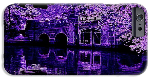 D.c. iPhone Cases - Purple Haze iPhone Case by Patti Whitten