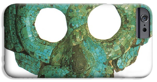 Serpent iPhone Cases - Quetzalcoatl, Aztec Feathered Serpent iPhone Case by Photo Researchers