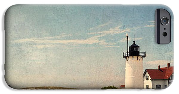 New England Lighthouse iPhone Cases - Race Point Light iPhone Case by Bill  Wakeley