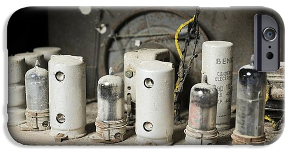Recently Sold -  - Electronic iPhone Cases - Radio Receiver Vacuum Tubes iPhone Case by PhotoStock-Israel