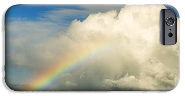 Fleurieu Peninsula iPhone Cases - Rainbow iPhone Case by Tim Hester