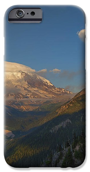 Rainier Capped iPhone Case by Mike  Dawson