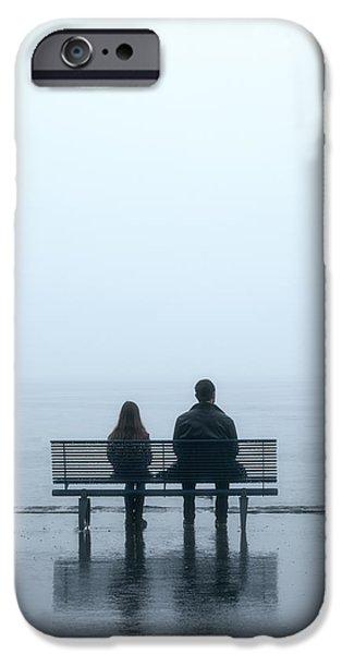 Fog Mist iPhone Cases - Rainy Day iPhone Case by Joana Kruse