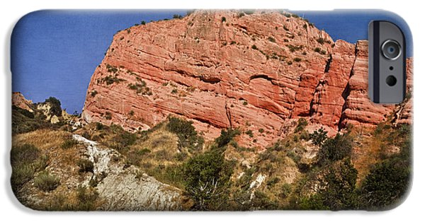 Red Rock iPhone Cases - Red Rock Canyon iPhone Case by Joan Carroll