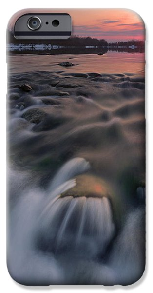 Red sunset iPhone Case by Davorin Mance