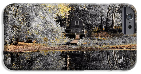 Concord Massachusetts iPhone Cases - Reflection iPhone Case by Brian Mooney