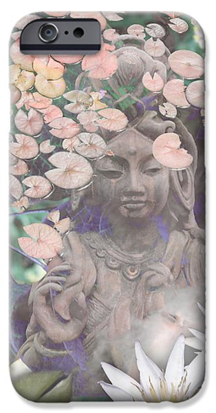 Ancient iPhone Cases - Reflections iPhone Case by Christopher Beikmann