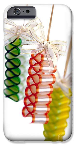 Hard Candies iPhone Cases - Ribbon Candy iPhone Case by Iris Richardson