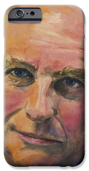 Richard Dawkins iPhone Case by Simon Kregar