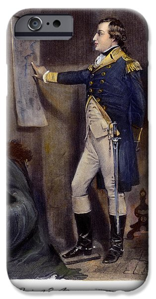 American Revolution iPhone Cases - Richard Montgomery iPhone Case by Granger