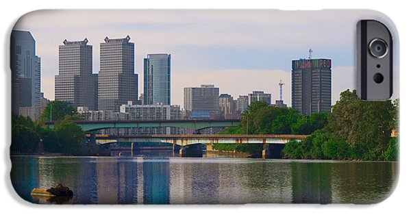 River View iPhone Cases - River View of Philadelphia iPhone Case by Bill Cannon