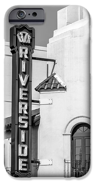 Pen And Ink Photographs iPhone Cases - Riverside iPhone Case by Laura L Leatherwood