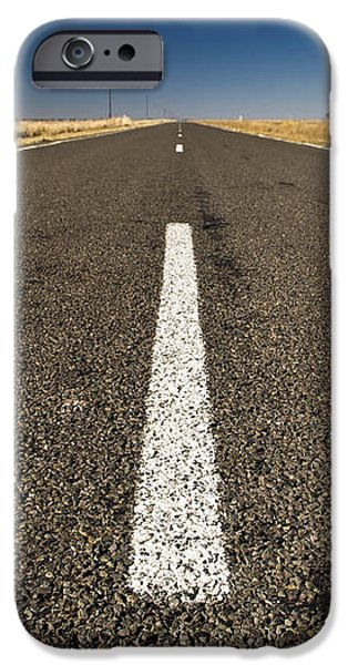 Road Ahead iPhone Case by Tim Hester