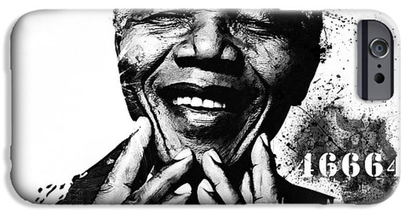 Recently Sold -  - Politician iPhone Cases - Rolihlahla iPhone Case by The DigArtisT