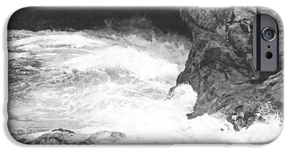 Frank Ocean Drawings iPhone Cases - Rolling Breakers in Lava Cave iPhone Case by Frank Wilson