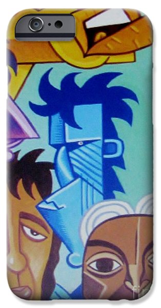 Keith Richards iPhone Cases - Rolling Stones  iPhone Case by Susan Ince