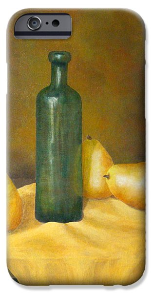 Table Wine iPhone Cases - Roman Table iPhone Case by Pamela Allegretto