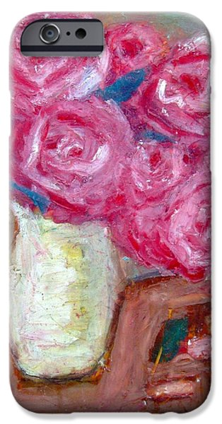 Symbolism Of The Hand iPhone Cases - Roses iPhone Case by Venus