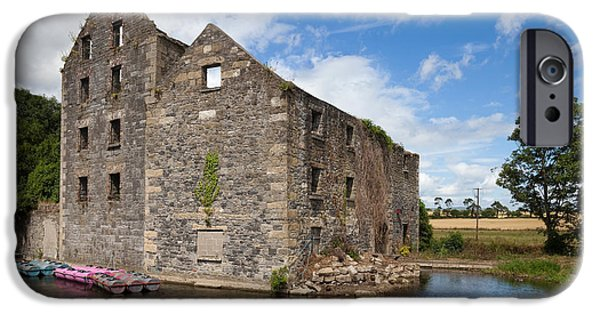 19th Century iPhone Cases - Rudkins Mill On The River Barrow, Muine iPhone Case by Panoramic Images