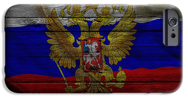 Russia iPhone Cases - Russia iPhone Case by Joe Hamilton