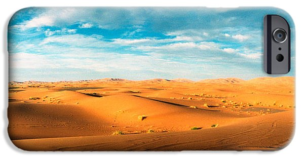 SAHARA iPhone Cases - Sahara Desert Landscape, Morocco iPhone Case by Panoramic Images