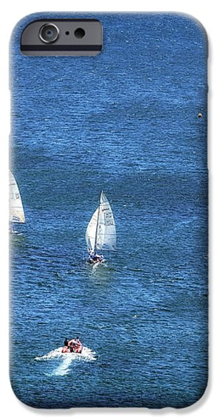 Sailing iPhone Case by John Rizzuto