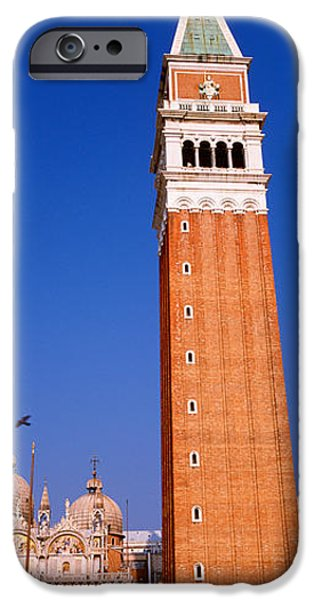 11th iPhone Cases - Saint Marks Square, Venice, Italy iPhone Case by Panoramic Images