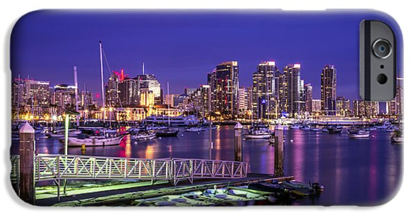 San Diego iPhone Cases - San Diego Harbor iPhone Case by Joseph S Giacalone