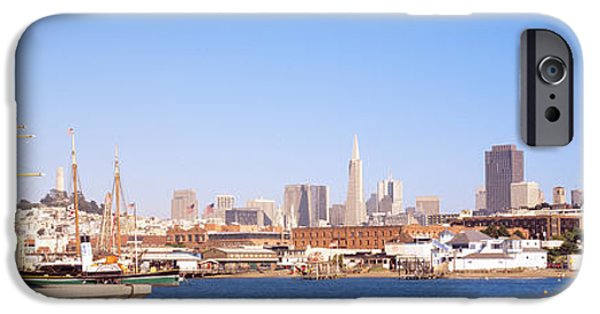 Tall Ship iPhone Cases - San Francisco Ca iPhone Case by Panoramic Images