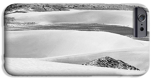 Nature Scene iPhone Cases - Sand Dunes iPhone Case by Hitendra SINKAR
