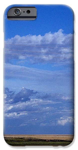Saskatchewan Farmland iPhone Case by Mark Newman