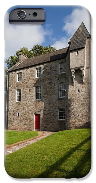 19th Century iPhone Cases - Scottish-baronial , Ballyduff, County iPhone Case by Panoramic Images