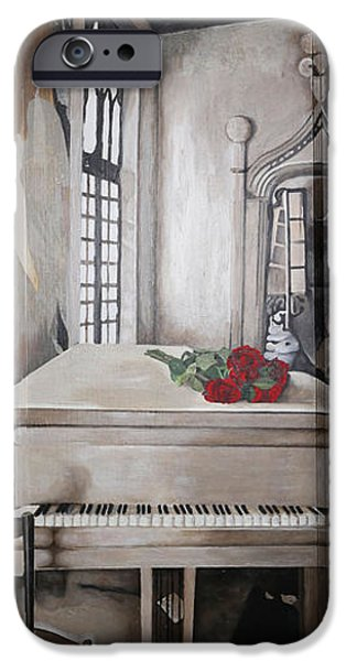 Haunted House iPhone Cases - Secret Passage iPhone Case by Michelle Carlson