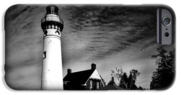 Gullivers iPhone Cases - Seul Choix Point Lighthouse in Winter iPhone Case by Mountain Dreams