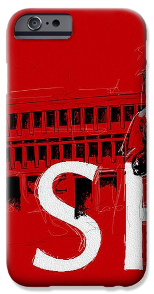 SFU Art iPhone Case by Catf