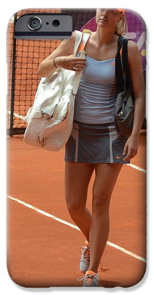 Wta iPhone Cases - Sharapova iPhone Case by Seruddin Salleh