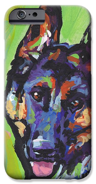 Childrens Art iPhone Cases - Sheppy iPhone Case by Lea