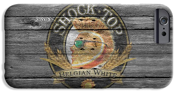 Breweries iPhone Cases - Shock Top iPhone Case by Joe Hamilton