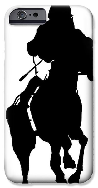 Kentucky Derby Drawings iPhone Cases - Showcase iPhone Case by Andooga Design