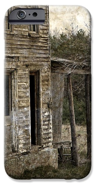Side Porch iPhone Case by John Stephens