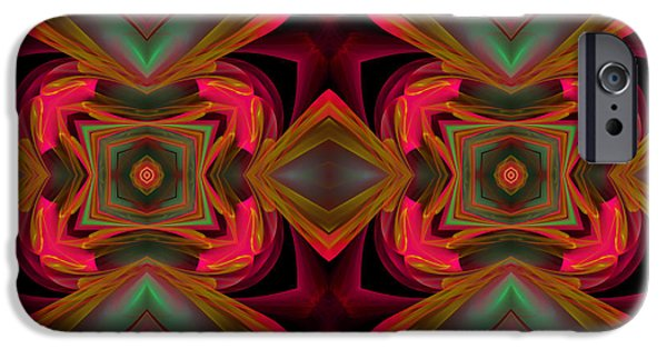 Youthful iPhone Cases - Sixties Twist iPhone Case by Georgiana Romanovna